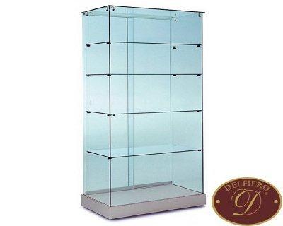 Vetrina espositiva usata in vetro temperato delfiero s r l for Vetrina in vetro