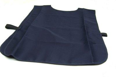 corpetto in cotone regolabile mediante fasce elastiche laterali. colore blu  notte. dimensioni del corpetto blu 69x50 cm. 4965f4f65d60