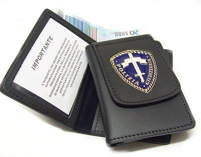 portafoglio vega cuoio 1wd19b polizia giudiziaria delfiero