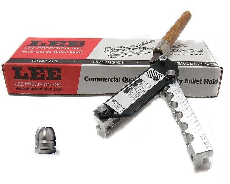 Lee Fondipalle 6 Cavities Caliber 45 Acp 90697 Bullet Mold